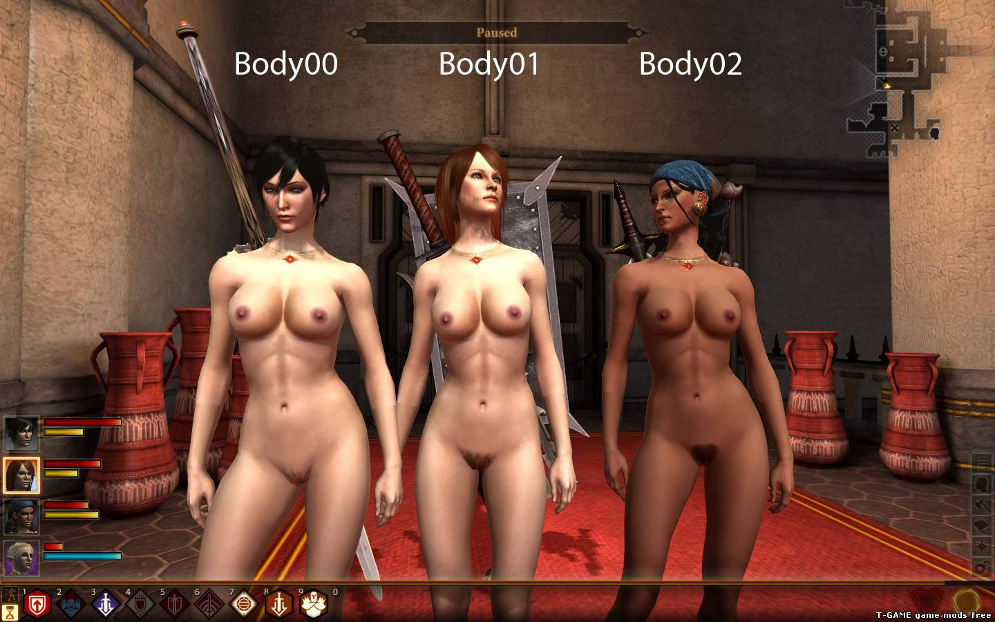 Dragon age 2 naked mod sexy muscle girls