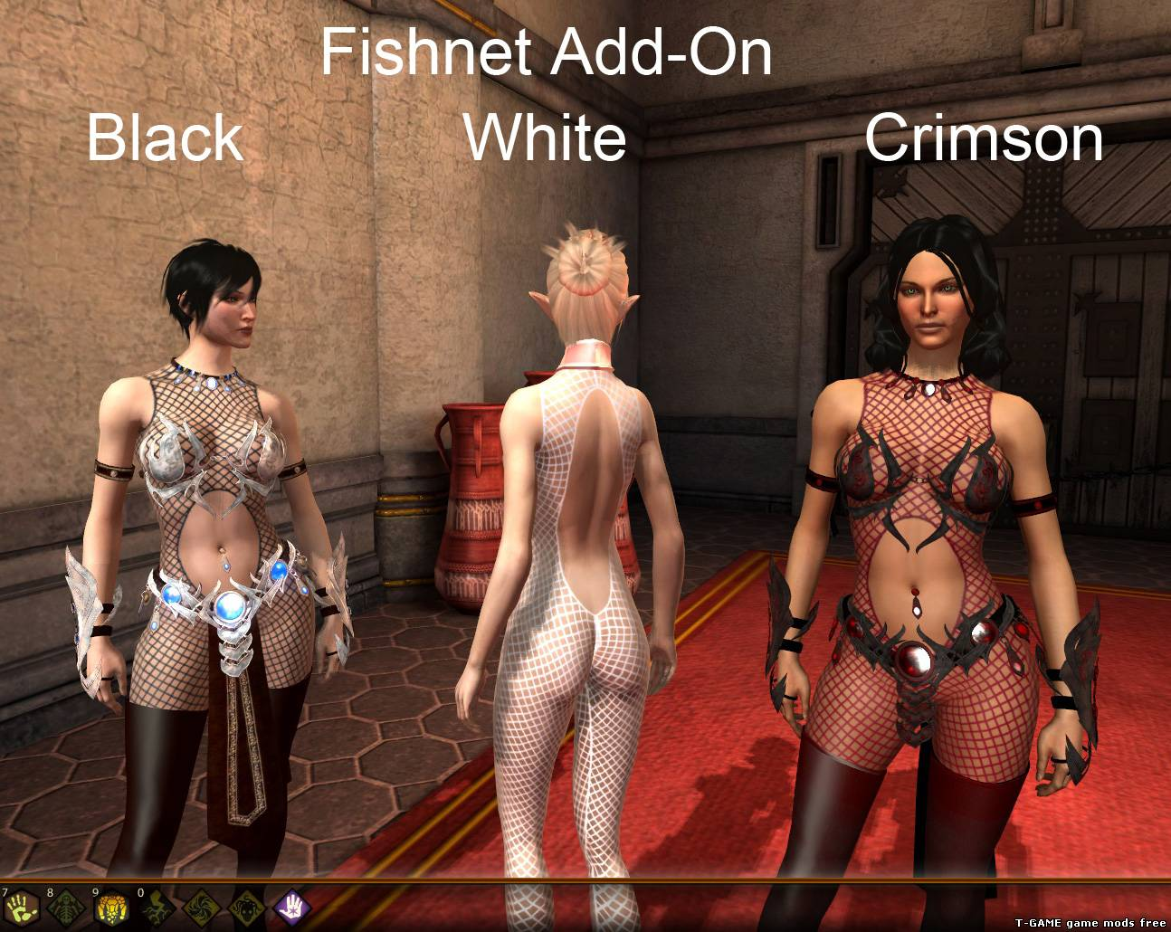 Dragon age начало мод на голых персонажей