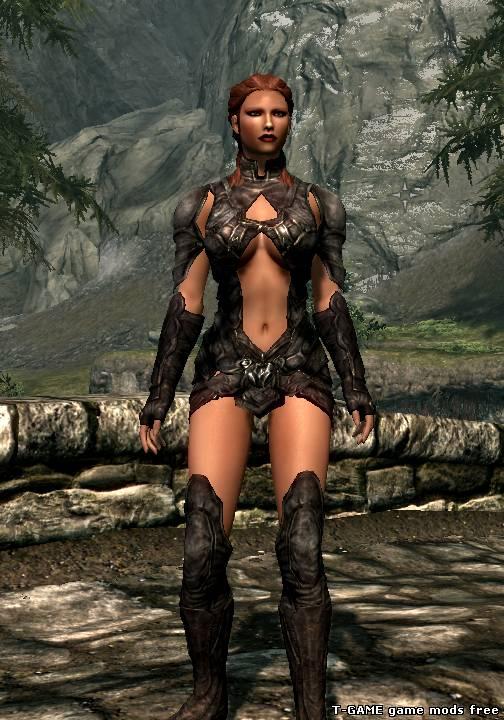 Skyrim самая эротичная даэдра броня